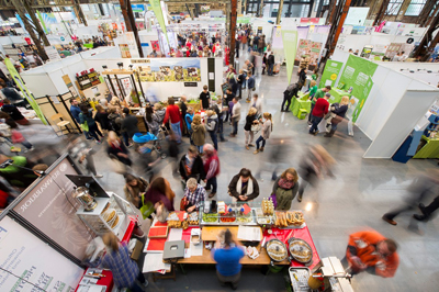 Über 10.000 Besucher kamen zum Messe-Dreierpack nach Düsseldorf. - Foto: Veggie World